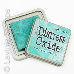 Distress Oxide Ink Pad - Salvaged Patina