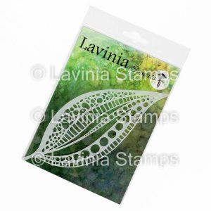 Tall Leaf Mask - Lavinia Stencils