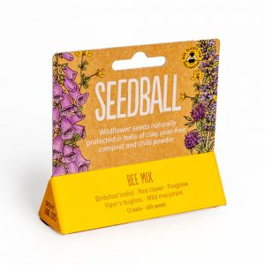 Bee Mix Seedball Tube