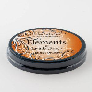 Elements Premium Dye Ink - Russet Orange