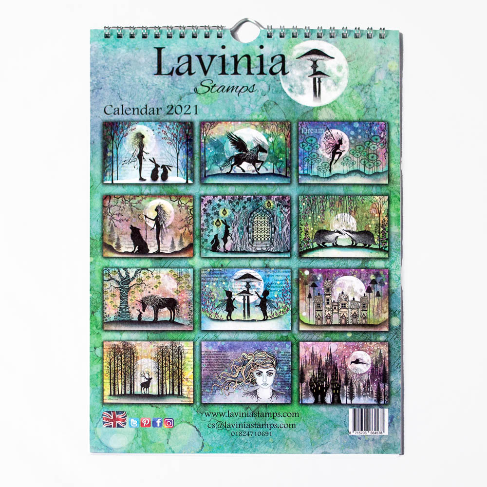 The 2021 Lavinia Stamps Calendar is out NOW