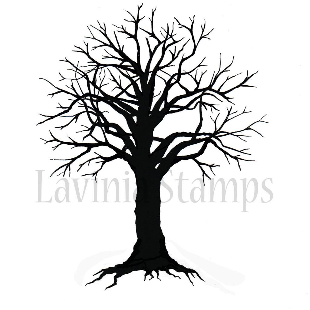 lavinia stamps ltd spooky tree