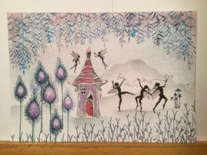A snowy dance. Maureen Lamarre