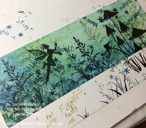 011 Repeat with the second strip of card.
