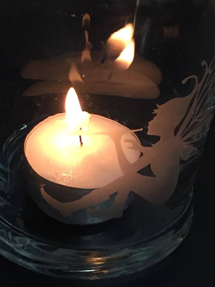 How good do these look with a flickering candle behind.